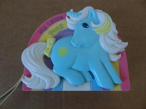 Vintage Sunbeam Radio My Little Pony stamped Hasbro