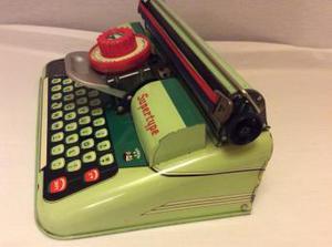 "Vintage Tinplate Mettoy ""Supertype"" Typewriter Toy"