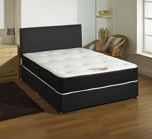 BRAND NEW KINGSIZE DIVAN BED AND MEMORY FOAM SPRUNG MATTRESS