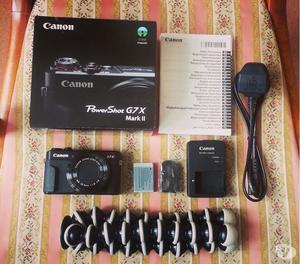 DISCOUNT SALE: Canon G7X MARK II + Free Gorilla Tripod
