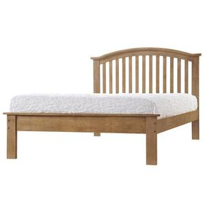 King size oak bed frame (Brand new in box)