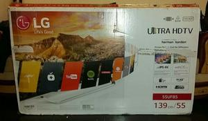 "LG Smart TV 55UF850V 55"" 3D p UHD LED Internet TV"
