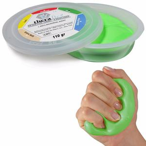 Msd PASTE 110g Green STRONG Mano Fingers THERAFLEX PUTTY