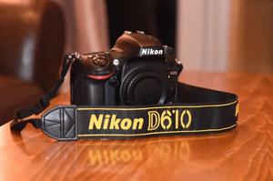 Nikon D610 (Body only) Mint, 12k Shutter Count