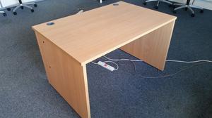 Office Desk 120x80x72 Perfect Condition - Warrington