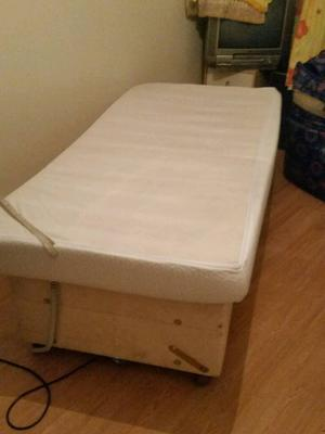 Single Electric Reclining Disability Bed With Foam Orthapedic Mattress