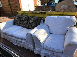 3 seater sofa and arm chair. in Chelmsford