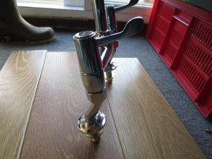 Bristan kitchen taps.