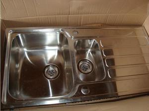 Eden Stainless Steel Sink. in Southampton