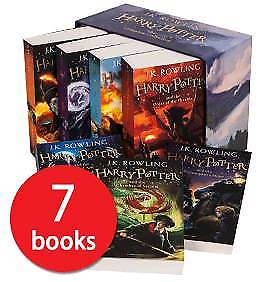 The complete Harry Potter Collection - 7 Book Box Set