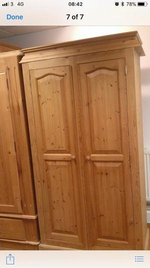 Wooden wordrobe