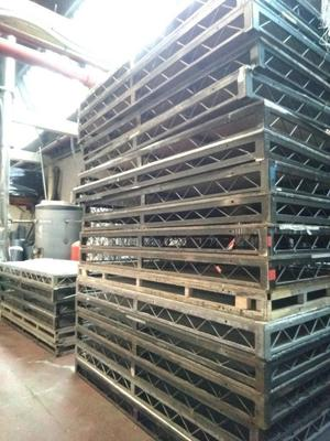 20 of 8 x 4 Steel Deck for Sale Collection Only