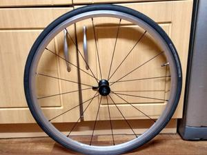 700c front wheel with tyre
