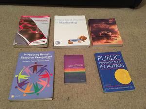 Assortment of Management Books
