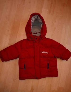 Boys 18 months red timberland coat perfect condition