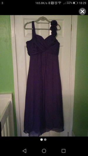 Brand new with tags purple bridesmaid/prom dress size 16