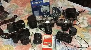 Cameras, lenses and odds and ends