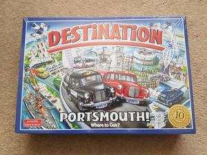 Destination board game of Portsmouth