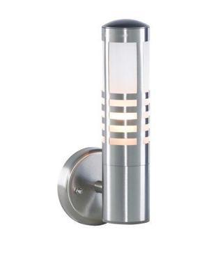 FORUM ZN--SST Zinc Delta Outdoor Slatted Wall Lantern