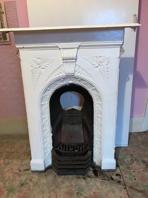 Fireplace early 20th century