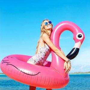 Giant Flamingo Swimming Pool Inflatable - Wishtime HQ