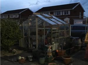 Glass Greenhouse in Port Talbot