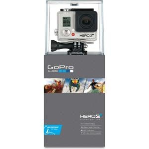 GoPro Hero 3+ Silver Go Pro Action Cam with Accessories