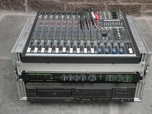 Heavy Duty 3 Lid 5U Flight Case for your mixing desk