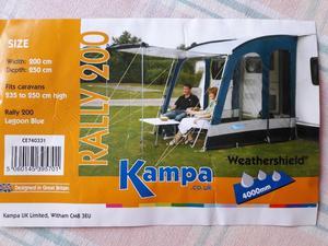 Kampa Rally 200 Caravan Awning