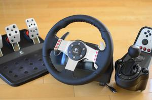 Logitech G27 Racing Wheel + Pedal & Shift