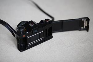 Mamiya ncs 35mm film camera and 2 lenses