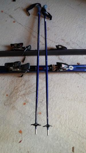 Mens Head skis, boots with carry bag and poles for sale