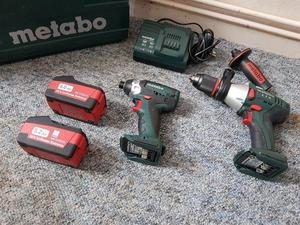 Metabo 18v LTX Impact and Combi Hammer Drill