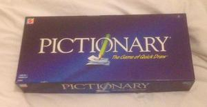 PICTIONARY Quick Draw Board Game by Mattel . Complete And VGC.
