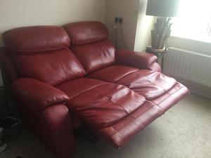 Quality double recliner sofa