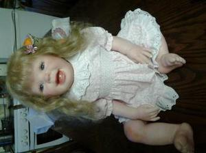 Reborn toddler doll from a ?? kit.25 inv