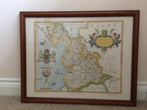 Reproduction historical maps of Lancashire