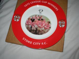 STOKE CITY  LGE CUP WINNERS PLATE