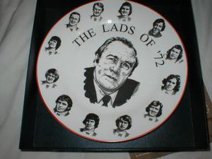 STOKE CITY PLATE THE LADS OF 72