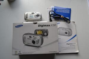Samsung Digimax A MP Digital Camera - Silver