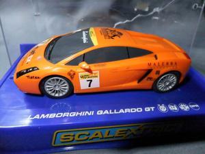 """Scalextric Slot Car C Lamborghini Gallardo GT """"Reiter"""