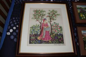 TAPESTRY PICTURE LADY