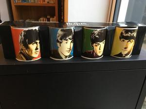 The Beatles Mini Mug Collection 7 cm tall as new