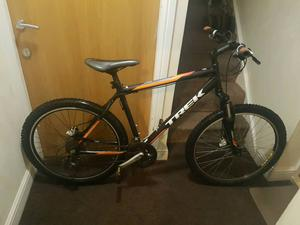 Trek  mountain bike with hydraulic brakes