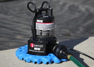 WAYNE 1/4 HP Automatic ON OFF Water Removal Pool Cover Pump