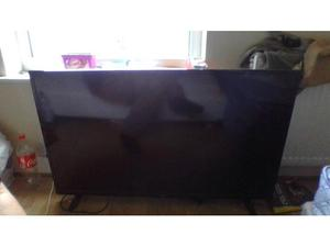 ALMOST NEW LUXOR 50 INCH SIZE 4k FULL HD LED TV WITH WIFI
