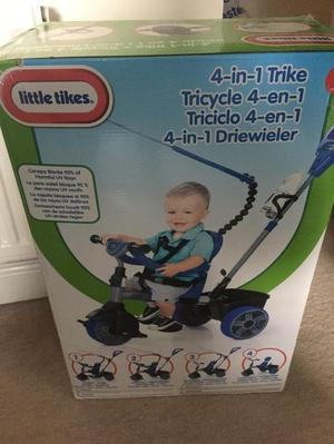 BRAND NEW BOXED Little tikes 4 in 1 trike