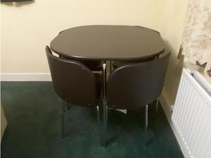 DINING TABLE AND 4 MATCHING CHAIRS in Sheffield