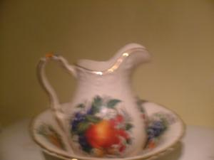 Jug and Bowl pottery by Henry's Staffordshire