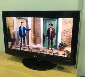 "Lg 32"" Lcd Full Hd p Slimline Tv Built In Freeview Remote & Stand Excellent Condition"